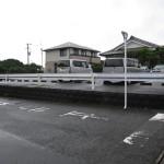 高岡町穆佐小学校近くの祗園台団地入口
