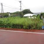本庄小学校近くの住宅地